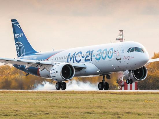 Выход российского самолета МС-21 на рынок задерживается из-за санкций