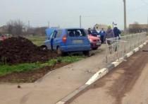 В Крыму безответственный автовладелец разрешил своему малолетнему сыну сесть за руль, и это едва не привело к трагедии