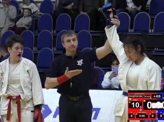 Юная рукопашница из Калмыкии - призер Первенства России