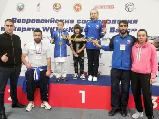 Юные ивановские каратисты вернулись из Казани с медалями