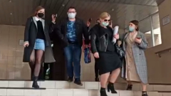 """Участник дела """"лжесвидетелей"""" Ефремова отказался общаться с прессой: видео"""