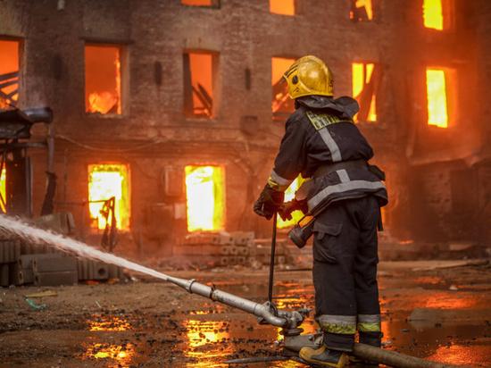Путин наградил орденами Мужества пожарных, погибших на Невской мануфактуре