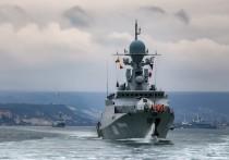 Российский флот начал учения с боевой стрельбой в Черном море