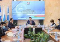 Глава Якутии провёл заседание оперативного штаба в Мирнинском районе