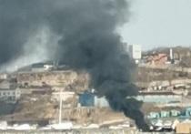 Во Владивостоке сгорела яхта