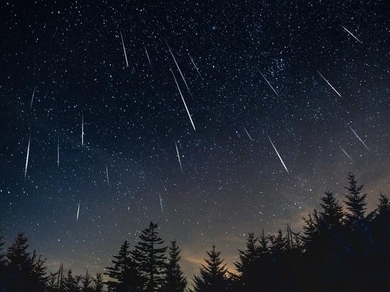 Ивановцы могут полюбоваться метеорами в ночном небе