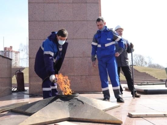 В Иванове отремонтируют звезду у Вечного огня