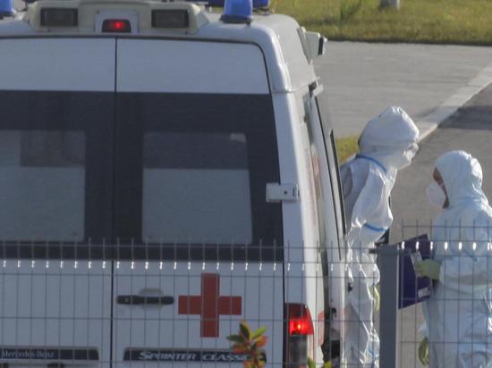 В России выявили 8 944 случая коронавируса за сутки
