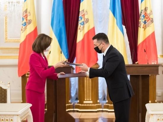 Президент Молдовы Санду ждет ответов от лидера Украины Зеленского