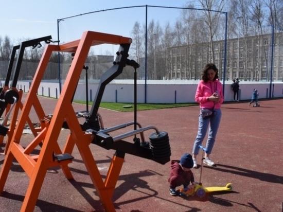 Состояние спортплощадки в ивановской гимназии №3 проверила специальная комиссия