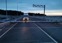 Пункт весогабаритного контроля повредили на Качугском тракте