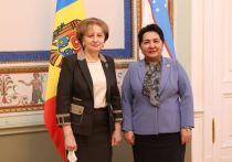 Гречаный встретилась с главой Сената парламента Республики Узбекистан