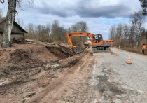До 31 августа дорожные рабочие отремонтируют трассу «Порхов – Успенье»