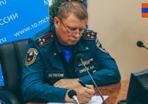 Путин уволил начальника МЧС Карелии Алексея Елисеева
