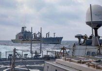 Служба по связям с общественностью командования ВМС Вооруженных сил Украины сообщила в Facebook об инциденте, который произошел ночью в Азовском море с участием украинской катерной группы, находящейся на боевом дежурства и катеров ФСБ РФ