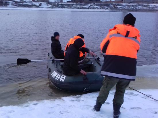 В Виноградовском районе ледоход чуть не унёс несколько жизней