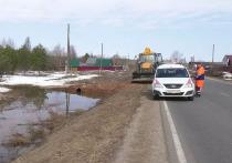 Под Кировом затопило несколько улиц