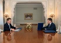 Добыча газа, экология, строительство: губернатор ЯНАО встретился с главой «Газпрома»