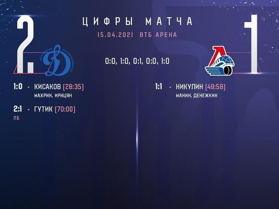 Ярославская молодежка не смогла выиграть в первом матче финальной серии плей-офф Кубка Гагарина