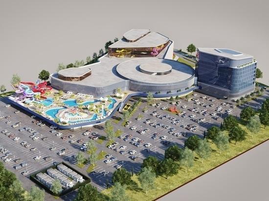Сдачу аквапарка в Красноярске отложили на два года