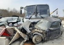 Момент ДТП с автобусом на мосту через Трубеж в Рязани показали с другого ракурса
