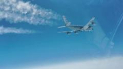 МиГ-31 сопроводил американский самолет-разведчик вдоль побережья Камчатки