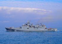 МИД России сообщил о закрытии плоть до октября 2021 года трех судоходных участков Черного моря в направлении Керченского пролива для прохода иностранных военных кораблей и государственных судов
