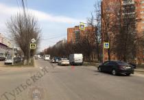 В Туле на пересечении улиц Чапаева и Кирова легковушка сбила женщину