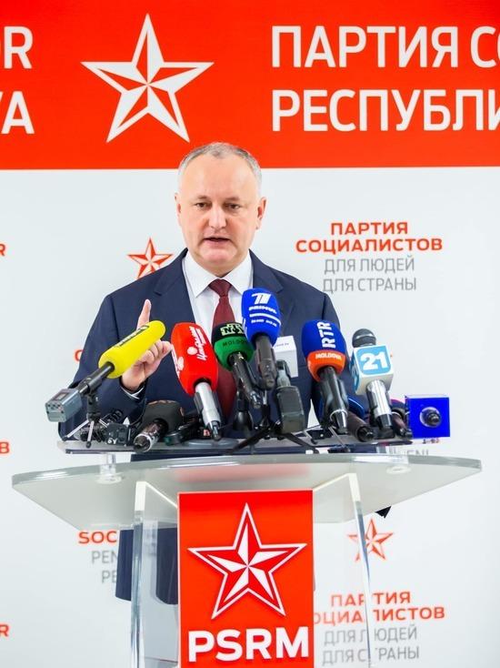 Игорь Додон: «Sputnik-V» поступит в Молдову в ближайшие дни