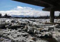 В селе Кимильтей река подтопила восемь участков