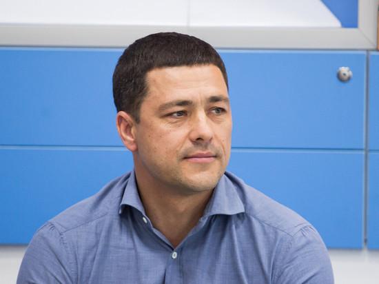 """Проект """"Зеленая область"""" представил Михаил Ведерников"""