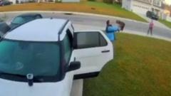 Муж храбро поборол рысь, напавшую на жену возле машины