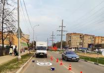 На дорогах Серпухова восстанавливают разметку