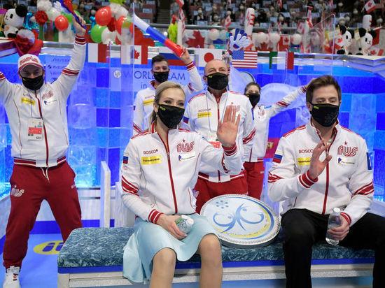 Российская команда оторвалась на 8 баллов от соперников из США, впереди только выступления пар и девушек
