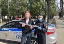 Известный актёр Дмитрий Исаев принял участие в селфи-акции в Серпухове
