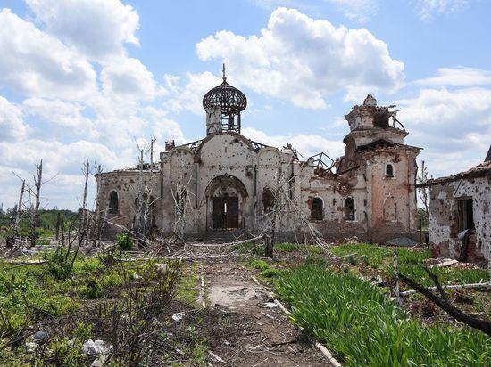 ВСУ обстреляли Иверский монастырь рядом с Донецким аэропортом