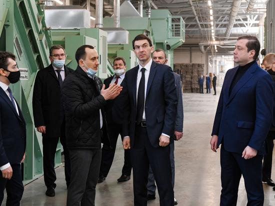 Полпред Президента Щеголев увидел на Смоленщине оборудование, которому нет аналогов в России