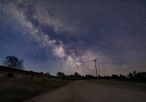 Предрассветный Млечный Путь сфотографировал пскович