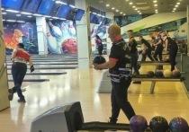 Чемпионат по боулингу проходит в Хабаровске