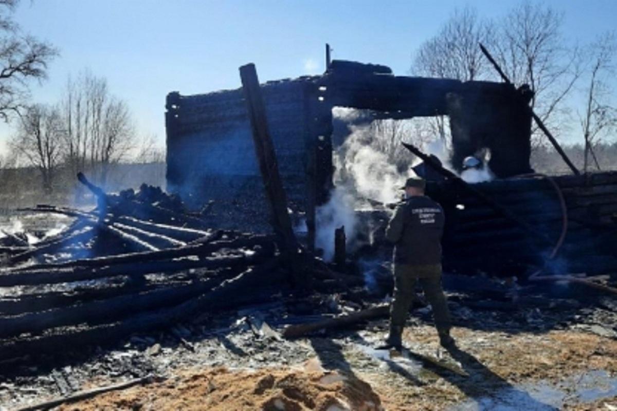 На пожаре в Костромской области погиб пожилой мужчина-вахтовик