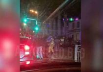 Ночная драка возле благовещенского кафе попала на видео