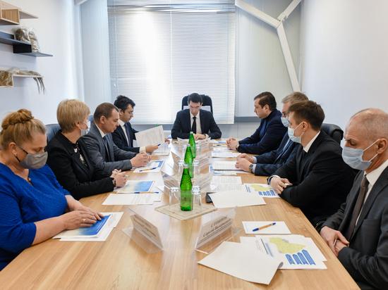 Губернатор Островский рассказал полпреду Президента Щеголеву о стабилизации ситуации с COVID-19 на Смоленщине