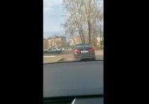 В Абакане машина ДПС гналась за BMW с тувинскими номерами