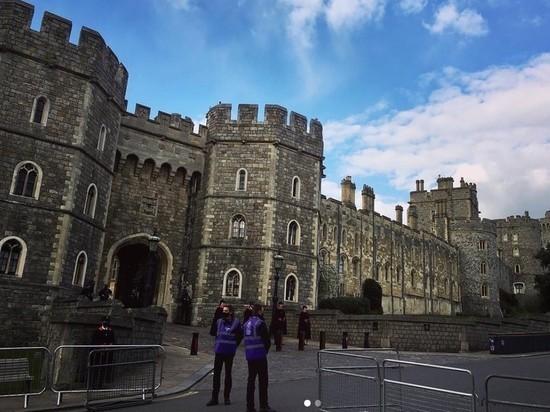 Полиция и спецслужбы оцепили место похорон принца Филиппа