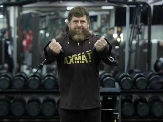Кадыров показал тренировку с бойцом UFC Чимаевым: Чеченский Волк