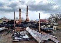 В Смоленской области сгорел жилой дом