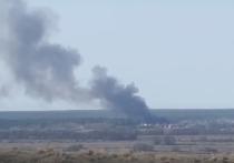 В Рыбновском районе зафиксировали пожар в Сельцах