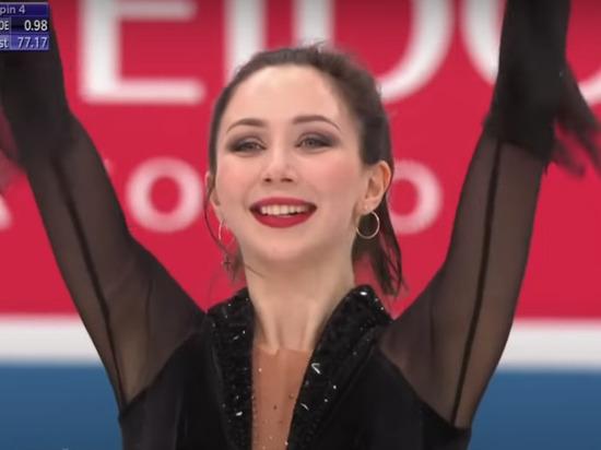 Фигуристка Елизавета Туктамышева заняла 3-е место на командном Чемпионате мира