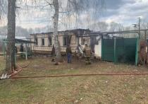 Мужчина погиб на пожаре в Кораблинском районе Рязанской области