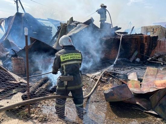 В Суздальском районе Владимирской области сгорели 4 дома. при пожаре пострадал подросток